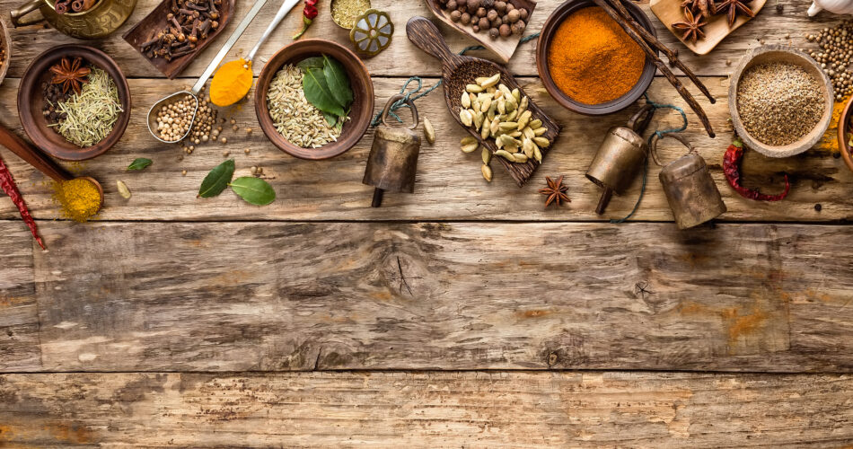 oriental indian spices